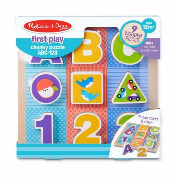 Erste Puzzle ABC-123