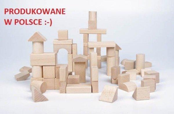 Holzbausteine NATUR 100Stk