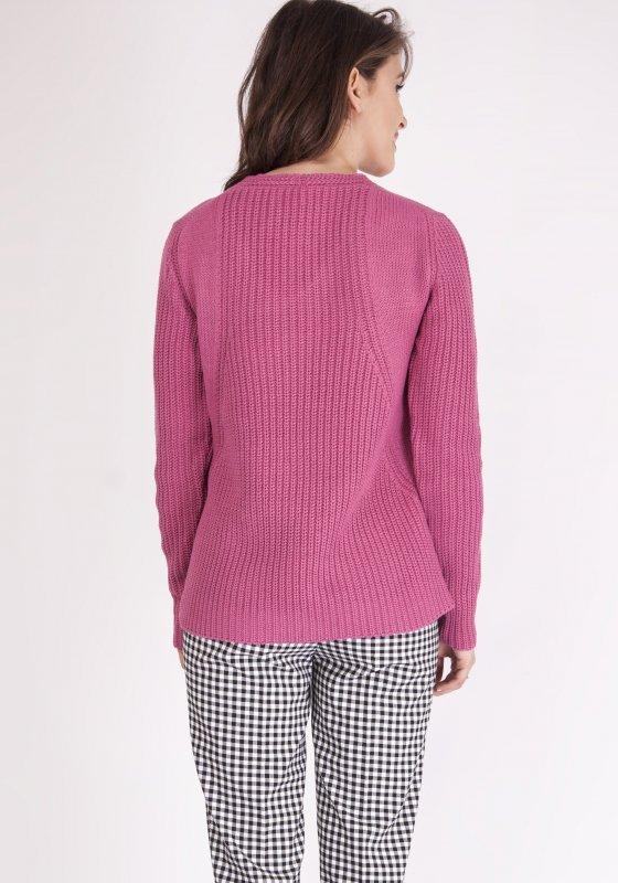 Sweter Victoria SWE 123 Różowy