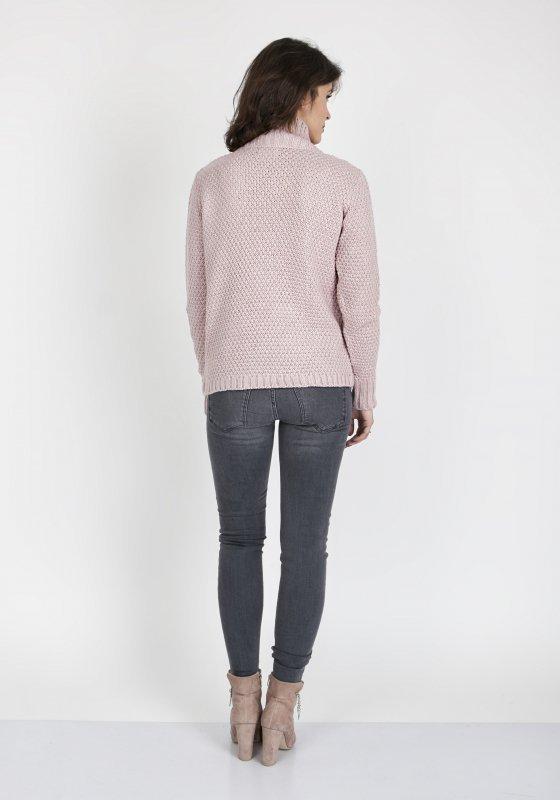 Sweter Estelle SWE 121 Pudrowy róż