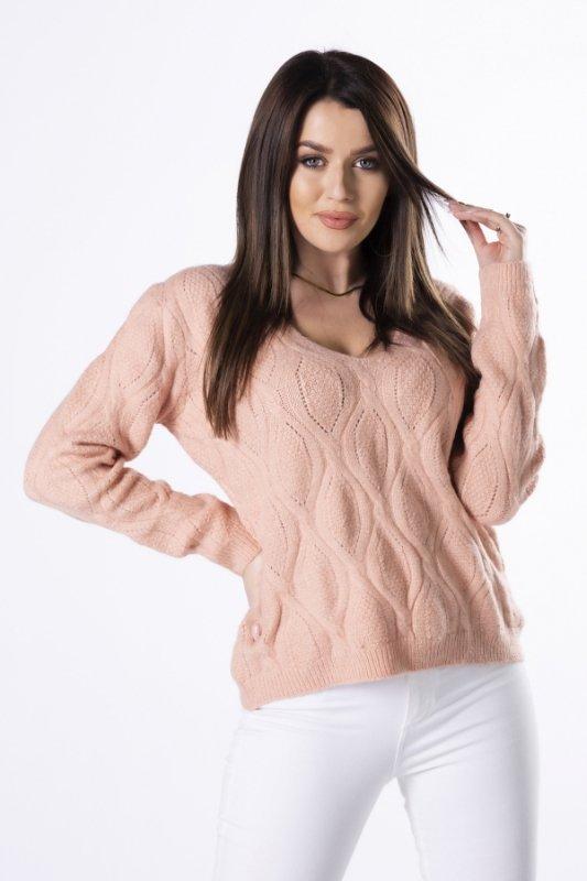 Sweterek Emma M82992 Soft Pink