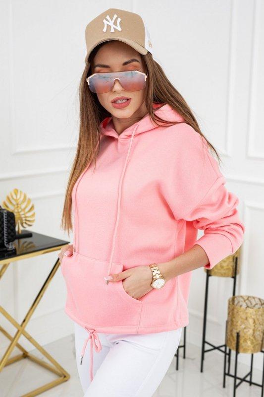 Bluza z kapturem Noemi WJ8890 Flamingo