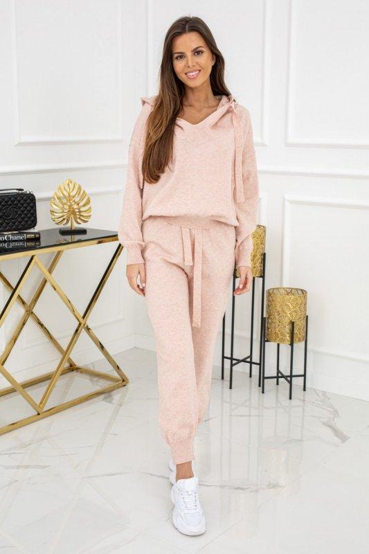 Dres sweterkowy Jennifer Soft Pink CH327