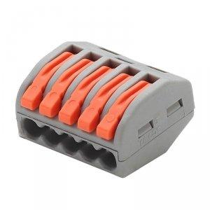 Złączka Instalacyjna 5x4mm 0.08-2.5(4.0)mm NYLON 32A V-TAC