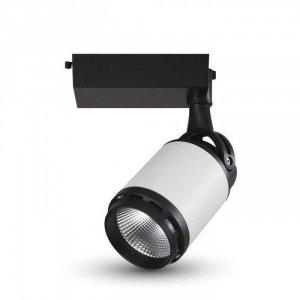 Oprawa Track Light LED V-TAC 35W 24st LED Czarny Biały VT-4537 3000K 2850lm