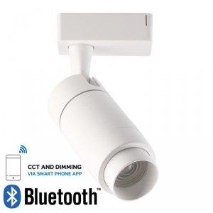 Oprawa Track Light LED V-TAC 35W Biała Bluetooth Control Barwa 3w1 16-53st VT-7735 2800K 2350lm