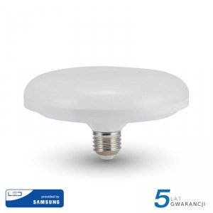 Żarówka LED V-TAC SAMSUNG CHIP 15W E27 fi150 UFO VT-216 6400K 1200lm 5 Lat Gwarancji