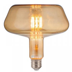 Żarówka LED V-TAC 8W Filament E27 T180 Bursztynowa 180x190mm VT-2308 2200K 620lm