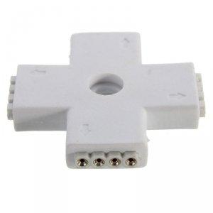 Konektor Złączka Taśm LED V-TAC Strip 5050 Cross Type