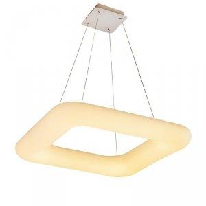Oprawa LED V-TAC 80W Zwis Kwadrat Zmiana Barwy Światła D:750x750x120 Ściemnianie Biały VT-7751 2700K-6400K 6600lm 3 Lata Gwaranc