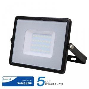 Projektor LED V-TAC 30W SAMSUNG CHIP Czarny VT-30 4000K 2400lm 5 Lat Gwarancji