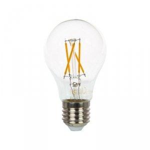 Żarówka LED V-TAC 4W A60 E27 Cross Filament VT-1885 2700K 400lm