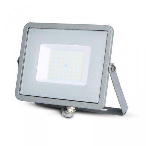 Projektor LED V-TAC 50W SAMSUNG CHIP Szary VT-50 4000K 4000lm 5 Lat Gwarancji