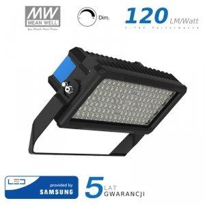 Projektor LED V-TAC 250W SAMSUNG CHIP Mean Well Driver Ściemnialny IP66 60st VT-252D 6000K 30000lm 5 Lat Gwarancji