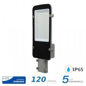Oprawa Uliczna LED V-TAC SAMSUNG CHIP A++ 50W Szara VT-50ST 6400K 6000lm 5 Lat Gwarancji