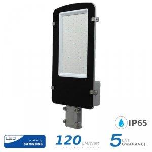 Oprawa Uliczna LED V-TAC SAMSUNG CHIP A++ 100W Szara VT-100ST 6400K 12000lm 5 Lat Gwarancji