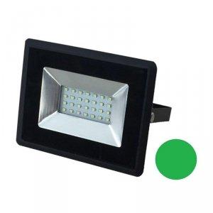 Projektor LED V-TAC 20W Czarny E-Series IP65 VT-4021 Zielony 1700lm