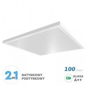 Panel LED V-TAC 70W Natynkowy/Podtynkowy 600x600x29 A++ 100lm/W VT-6170 4000K 5950lm