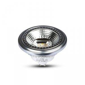 Żarówka LED V-TAC AR111 12W GU10 40st COB Ściemnialna VT-1112 4000K 650lm