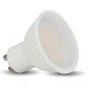 Żarówka LED V-TAC 6W GU10 SMD Mleczny Klosz 110st VT-2096 3000K 500lm