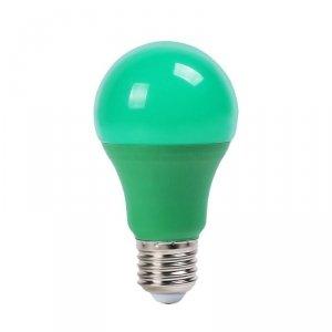 Żarówka LED V-TAC 9W E27 Kolorowa VT-2000 Zielony 270lm