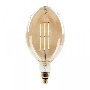Żarówka LED V-TAC 8W Straight Filament E27 BF180 Bursztyn Ściemnialna VT-2178D 2000K 600lm
