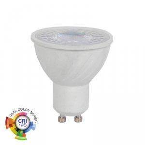 Żarówka LED V-TAC 6W GU10 38st CRI95+ VT-2206 4000K 400lm