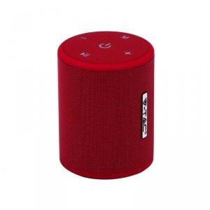 Przenośny Głośnik Bluetooth Micro USB Wysokiej jakości przewód 1500mah Czerwony V-TAC VT-6244