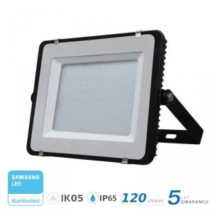 Projektor LED V-TAC 150W SAMSUNG CHIP SLIM Czarny 120lm/W VT-156 6400K 18000lm 5 Lat Gwarancji