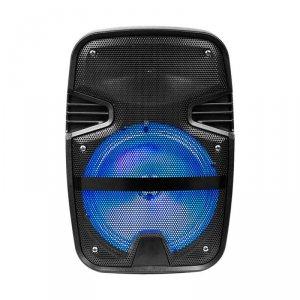 Głośnik Przenośny V-TAC 15W Mikrofon, RGB, PILOT, USB, Micro SD & FM Radio, na kółkach VT-6208