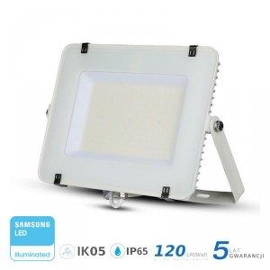 Projektor LED V-TAC 150W SAMSUNG CHIP SLIM Biały 120lm/W VT-156 6400K 18000lm 5 Lat Gwarancji