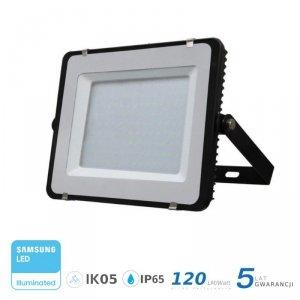 Projektor LED V-TAC 200W SAMSUNG CHIP SLIM Czarny 120lm/W VT-206 4000K 24000lm 5 Lat Gwarancji