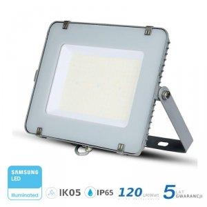 Projektor LED V-TAC 300W SAMSUNG CHIP SLIM Szary 120lm/W VT-306 6400K 36000lm 5 Lat Gwarancji