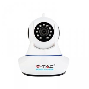 Kamera Wewnętrzna 720P WiFi IP 2-drożna z mikrofonem EU Plug IP20 V-TAC VT-5120