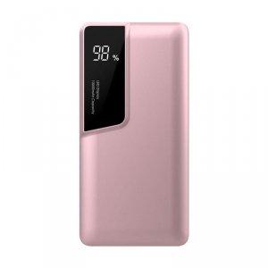 Power Bank V-TAC 10000mah Wyświetlacz USB Type C Różowe Złoto VT-3511