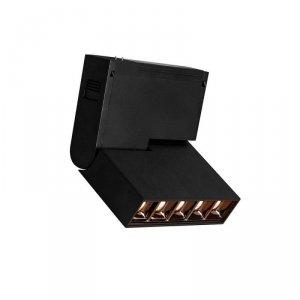 Oprawa Szynosystemu Magnetycznego V-TAC 10W 24V LED Czarna CRI90+ UGR19 VT-4210 3000K 700lm 3 Lata Gwarancji