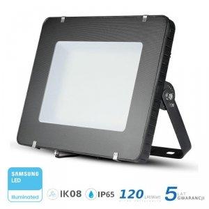 Projektor LED V-TAC 500W LED SAMSUNG CHIP Czarny 120lm/W 100st VT-505 4000K 60000lm 5 Lat Gwarancji