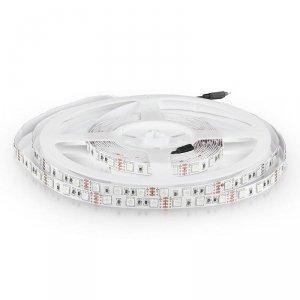 Taśma LED V-TAC SMD5050 300LED IP20 9W/m VT-5050 RGB 1000lm