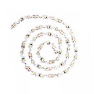 Taśma LED V-TAC S-Shape Zig Zag do zakrętów SMD2835 300LED 12V IP20 VT-2835-60-S 3000K 300lm