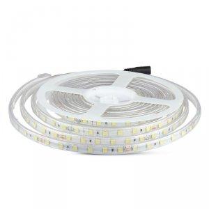Taśma LED V-TAC SMD5050 600LED 24V IP65 RĘKAW VT-5050 6400K 500lm