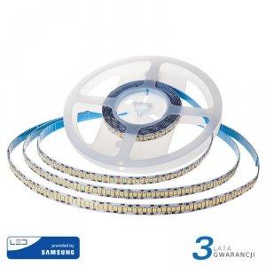 Taśma LED V-TAC SAMSUNG CHIP 2835 1200LED 24V IP20 10mb 15W/m VT-2835 3000K 1600lm 3 Lata Gwarancji