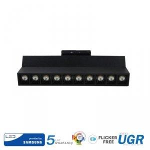 Oprawa LED V-TAC 25W Track Light SAMSUNG CHIP CRI90+ Czarna VT-431 4000K 2000lm 5 Lat Gwarancji