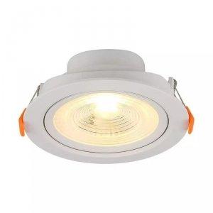 Oprawa V-TAC Downlight 7W LED Okrągły Biały VT-8407 6000K 560lm