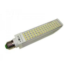 Żarówka  LED PL E27 7W 230V BIAŁY DZIENNY