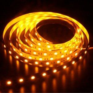 TAŚMA LED 14,4W POMARAŃCZOWA 5050 300LED/5m