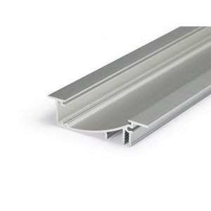 PROFIL LED FLAT8 H/UX 2M.