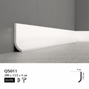 Listwa lakierowana biała QS011P