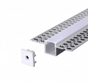Profil do taśmy LED podtynkowy do gipsowania 2m
