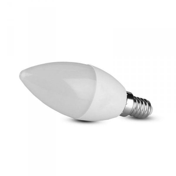 Żarówka LED V-TAC SAMSUNG CHIP 7W E14 Świeczka VT-268 6400K 600lm 5 Lat Gwarancji