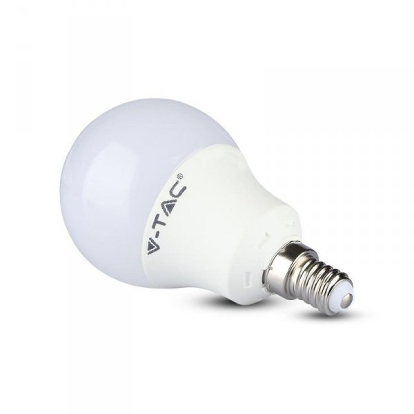 Żarówka LED V-TAC SAMSUNG CHIP 9W E14 Kulka VT-269 6400K 806lm 5 Lat Gwarancji